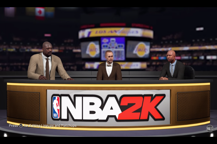 NBA 2K19 New Tab for Google Chrome - Choose Tab
